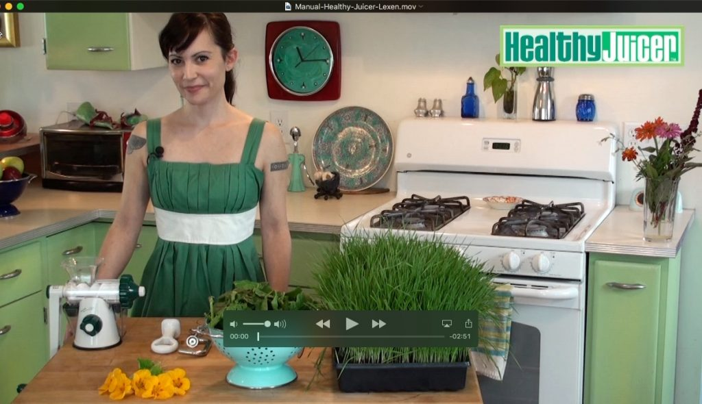 Download the Healthy Juicer Product Video